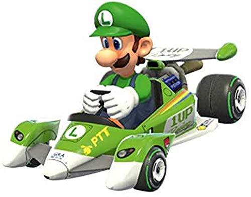 GAMES & TOYS CARRERA 17320 Nintendo Pull Speed Mario Kart 8 Circuit Special Luigi car Box