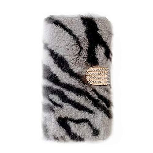 Funda para iPhone 7 Plus, iPhone 8 Plus de piel sintética de poliuretano, con tapa, tipo cartera, funda para teléfono móvil