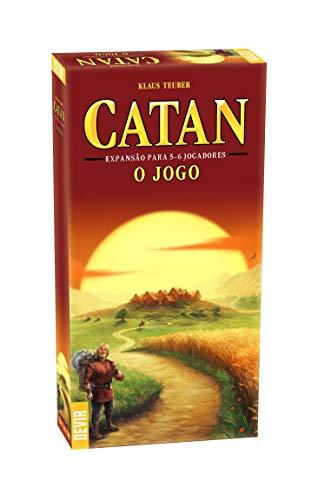 CATAN 5 E 6 JOGADORES (EXPANSÃO)