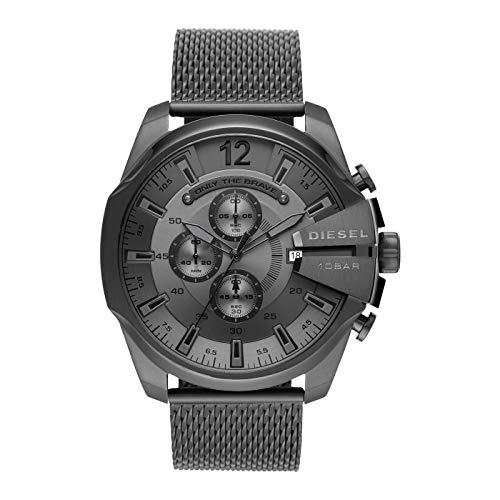 orologio cronografo uomo Diesel Mega Chief sportivo cod. DZ4527