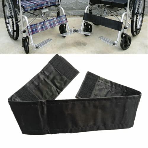 Cinturón de seguridad para sillas de ruedas Correa de pantorrilla de silla de ruedas de reemplazo universal Restricciones de la correa de descanso de la pierna,1