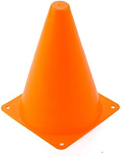 YOTHG 7 Inch Plastic Agility Cones, Field Marker Cones, Indoor/Outdoor Sports Skate Soccer Cone for Training, Party, Activity, Traffic, Safety Practice