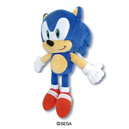 Sonic The Hedgehog Plush S, Collector Plush, SK Japan: 10.6 x 4.5 x 5.7'