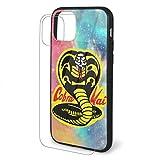 Cobra Kai Dojo iPhone 11/11 Pro/Pro Max Coque en verre organique résistant aux chocs et...