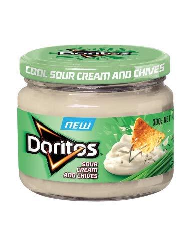 Doritos Salsa Crema Agria y Cebollino 300g
