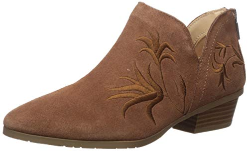 Kenneth Cole REACTION Women's Side GIG Ankle Boot, Tobacco, 8 Medium US
