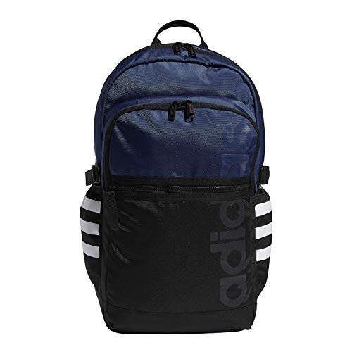 adidas Core Advantage II Backpack, Black/Tech Indigo/White, OSFA