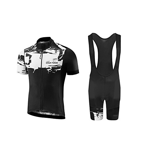 Uglyfrog 2018-2019 MTB Fahrradbekleidung Set Neuen Männer Kurzarm Fahrrad Breathable Sommer Herren Fahrradtrikot Outdoor Sports Wear Triathon Rikots & Shirts+Bib Kurze Hosen Sets