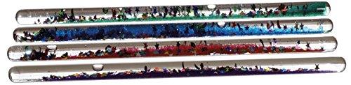 Kuenen 1 Stück Zauberstab mit Glitter (6 Farben - Keine Auswahl möglich