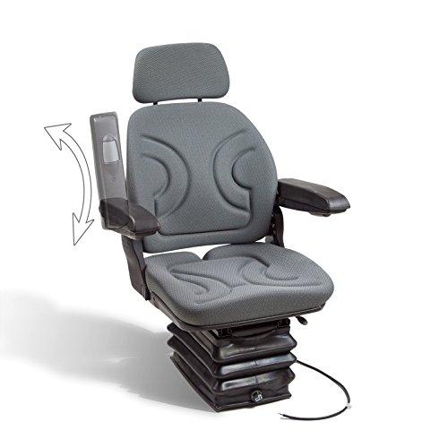 DEMA Schleppersitz mit Kompressor + Armlehne + K-stütze