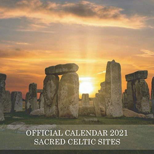 Sacred Celtic Sites: 2021 Wall Calendar - Mini Calendar, 7'x7', 12 Months