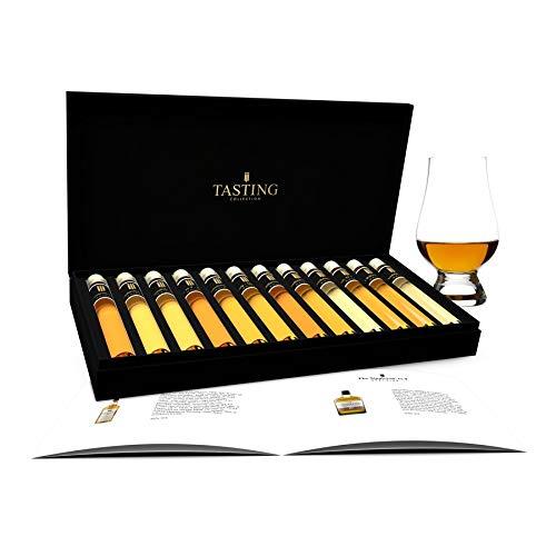Scotch Single Malt Whisky Tasting Collection 12 Tuben im Geschenkverpackung Set 1 | Das perfekte Whiskey Geschenkset für Weihnachten | Whisky Set