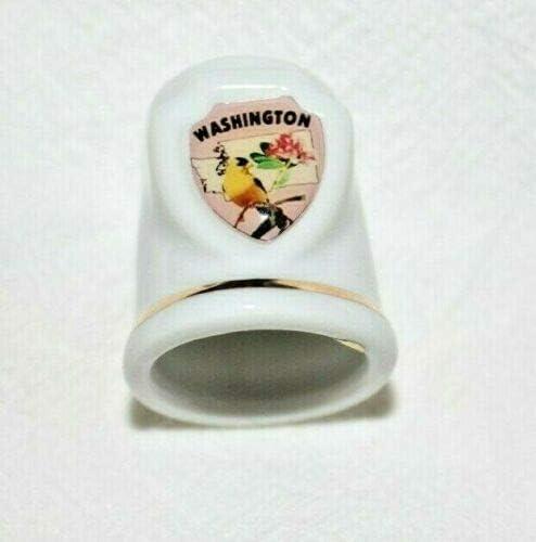 WASHINGTON Ceramic Thimble