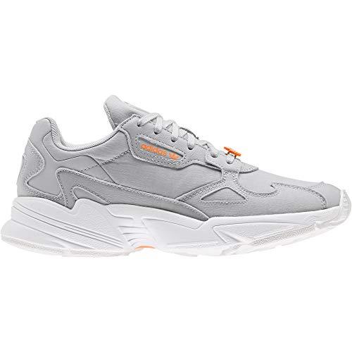 adidas Falcon, Sneaker Womens, Pink Tint/Pink Tint/Signal Orange, 38 EU