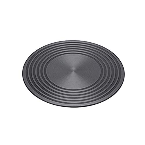 CALIDAKA Heat Diffuser 9/11inch Aluminum Induction Diffuser Plate,Reducer Flame Guard Simmer Ring Plate Non-Stick Hob Ring Plate for Gas Stove Glass Cooktop Converter Coffee Milk