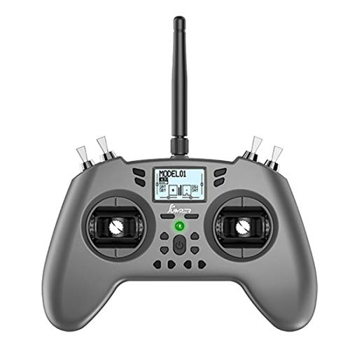 Jumper-XYZ T-LITE 16 Channels RC Transmitter Hall Sensor Gimbals CC2500/JP4IN1 Multi-Protocol RF System OpenTX Support Jumper 915 R900/CRSF Nano for RC Drone-Mode 2 Left Hand Throttle (JP4IN1)