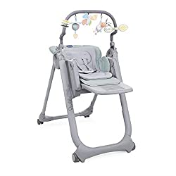 Suitable from birth as a baby recliner (0m+), then a highchair (6m+) or chair to the table (6m+) Double mini reducer to ensure maximum comfort for your baby during summer and winter Rich toy bar to entertain and stimulate your bay Versatile: 8 height...