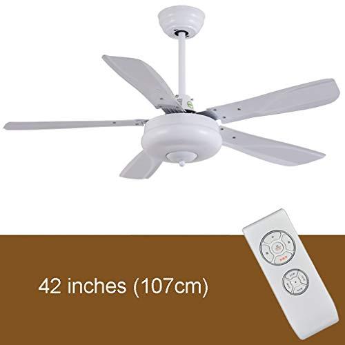 Ménage simplicité 42/56 inch windventilator voor het plafond, zwart, business, eenvoudig, elegant, woonkamer, eetkamer, zonder lamp, elektrische ventilator, voor het huishouden, sterk, stil, motor 42 inches Afstandsbediening