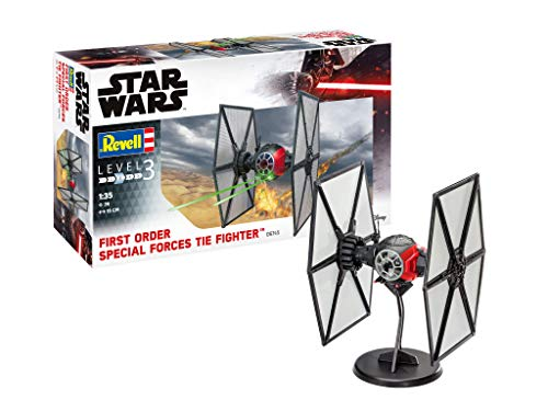 Revell REV-06745 Disney Star Wars First Order Special Forces TIE Fighter Storm Trooper Toys, Mehrfarbig, 1/35