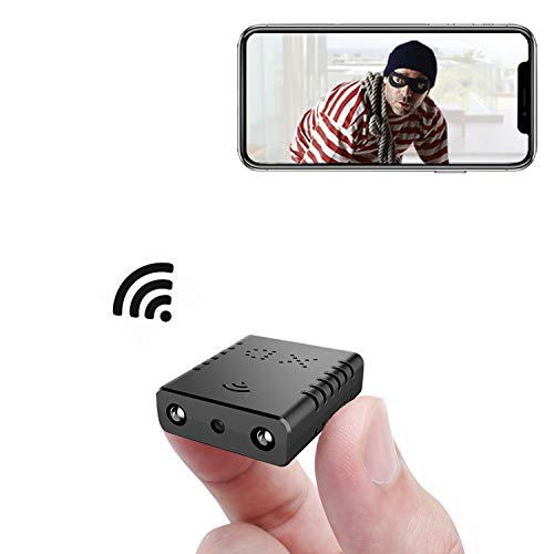 Small Wireless Camera WiFi,Rettru XDwifi IP Nanny Camera with Night Vision,AI Human Motion Detection,Cloud Storage,Live Feed Streaming,Remote Viewing for Video Surveillance with iOS,Android Phone APP