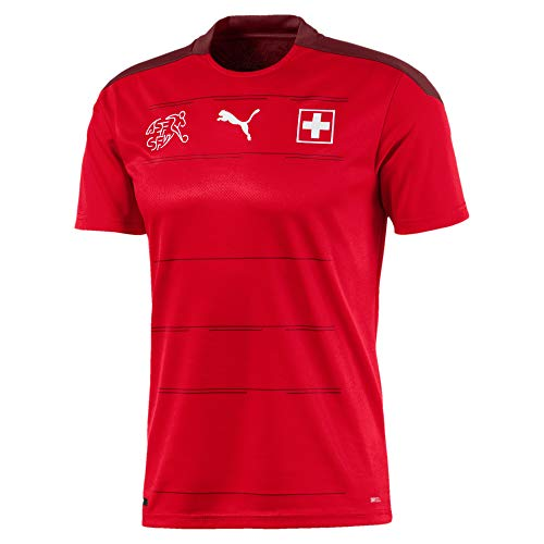 PUMA Sfv Home Shirt Replica Camiseta, Hombre, Puma Red-Pomegranate, S