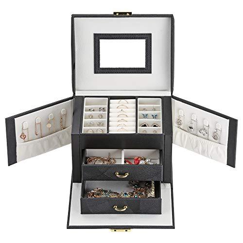 VEEKALA Joyero Organizador Display Storage Case