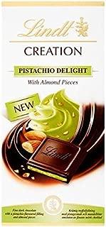 Lindt Chocolate Creation Dark Pistachio 150g x 4 Bars