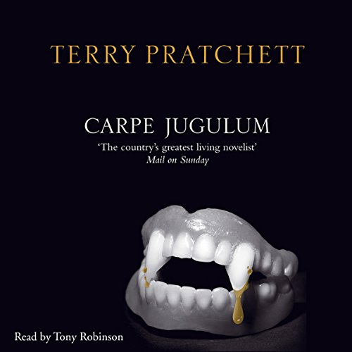 Carpe Jugulum audiobook cover art