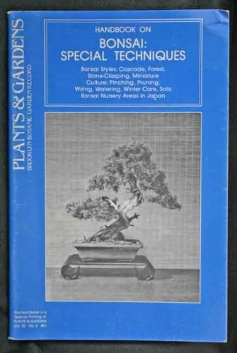 Handbook on Bonsai Special Techniques