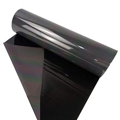 HOHO Reflektierender holografischer Film zum Aufbügeln, 50 cm x 50 cm, regenbogenfarben, Film passt in Cutter, Plotter