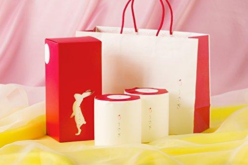 【内祝、手土産】うさぎ2ロールギフトボックス(紙袋付)(おもてなしギフト賞受賞) 赤箱