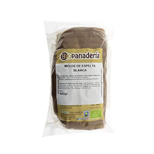 Biopanadería Pan de Molde Ecológico Elaborado con Masa Madre Natural (Espelta Blanca)