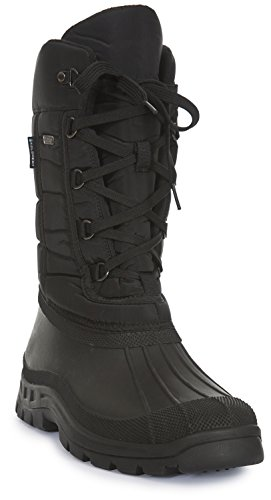 Trespass Straiton II, Mens Snow Boots, Black (Black), 9 (43 EU)