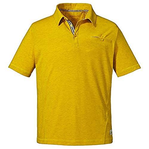Schöffel Herren Polo Shirt Kochel1, Sulphur, 52