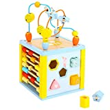 Sevira Kids Disney Winnie the Pooh Wooden Activity Cube