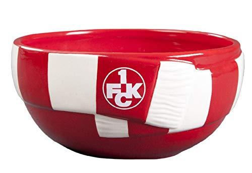 1. FC Kaiserslautern Müslischale - Schal - Design -, Schale FCK - Plus Lesezeichen I Love Kaiserslautern