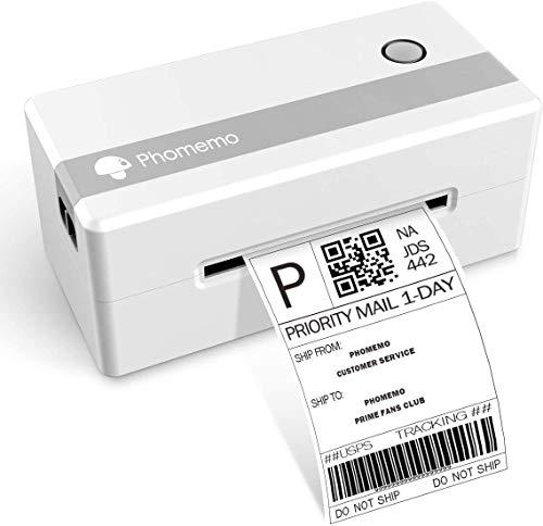 Shipping Label Printer Machine,4x6 thermal printer,Phomemo thermal label printer-PM246N for Home,...