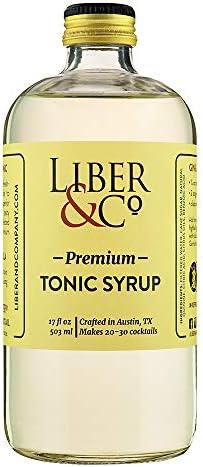 Premium Tonic Syrup 17 oz product image