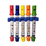 Opla3ofx Bathtime Bath Toys Water Flutes Toy Kids Children Colorful Shower Bath Tub Tunes Music Sounds Gift, Shower Toy, Educational