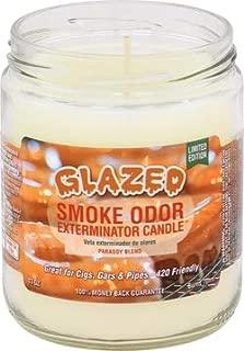 Smoke Odor Exterminator Candle,Glazed 13oz jar