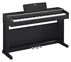 Yamaha Arius Digital Piano YDP-144B, zwart - Elektronische piano met hamermechanica, concert grand sound & USB-to-host poort - Compatibel met gratis Smart Pianist app*