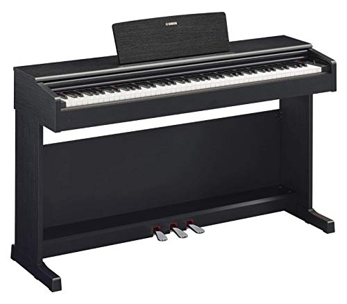 Yamaha Musical Instruments Arius Digital Piano YDP-144B, Pianoforte Digitale con Suono da Concerto, Connettore Host USB, Compatibile con l'Applicazione Smart Pianist, Nero