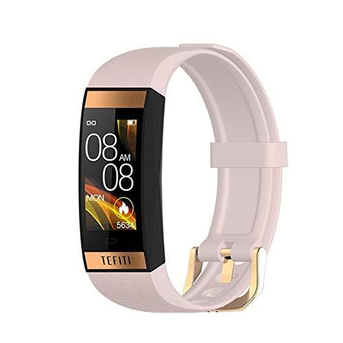 XXH Smart Watch E78 Pulsera De Las Mujeres para Hombres, Reloj Inteligente Deportivo Monitor De Ritmo Cardíaco Monitor De La Presión Arterial Reloj De Las Damas iOS Y Andriod,C
