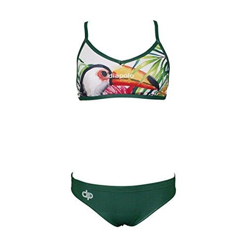 Diapolo Tukan Professioneller Bikini Zweiteilige Strandkleidung Bademode Damen Badeanzug für Frauen Mädchen Teenager Strandmode ohne Bügel S M L XL XXL (Crux Bikini, S)