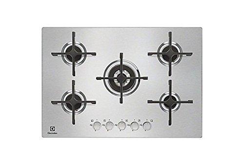 Electrolux - Piano cottura a gas EGU 7658 NOX finitura inox da 75cm