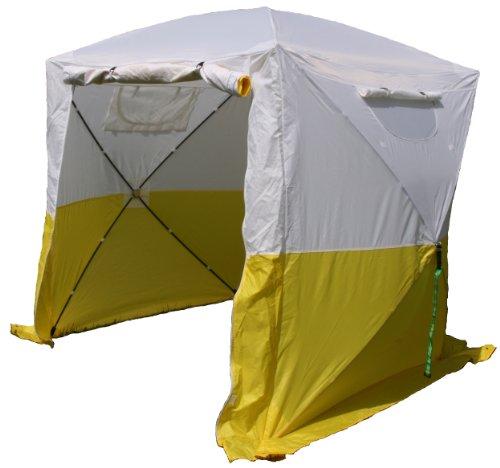 UHATEX Bauzelt, Faltzelt, Montagezelt, Wetterschutz, leicht und in 30 Sekunden alleine auf- und abgebaut