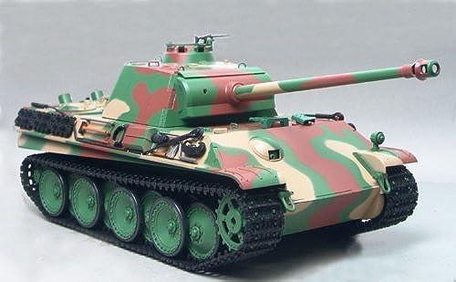 RC Kampfpanzer   Tank Panther G late Version 3879-1 Infrarot Kampfsystem mit Rauch und Sound