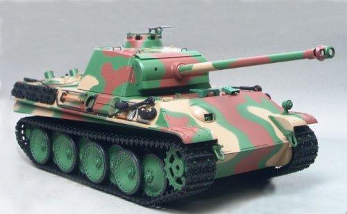RC Kampfpanzer / Tank Panther G late Version 3879-1 Infrarot Kampfsystem mit Rauch und Sound
