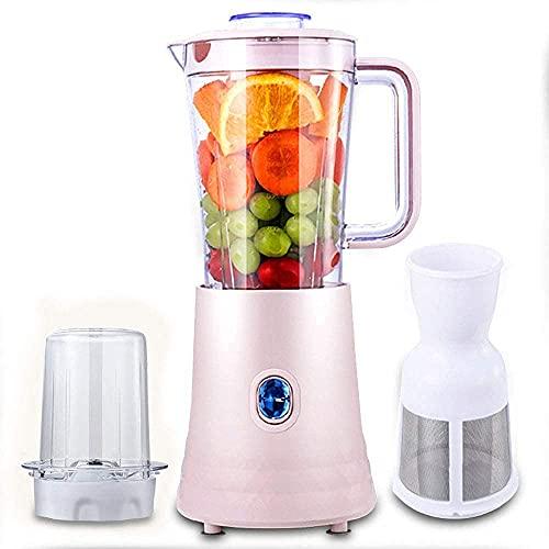 TETHYSUN Juicer Juicer eléctrico Blender Blender Blender Blender Procesador de Alimentos Fruta Blender Smoothie Blender Portátil Fruta y Squeso de Vegetal Smoothie 1.5L