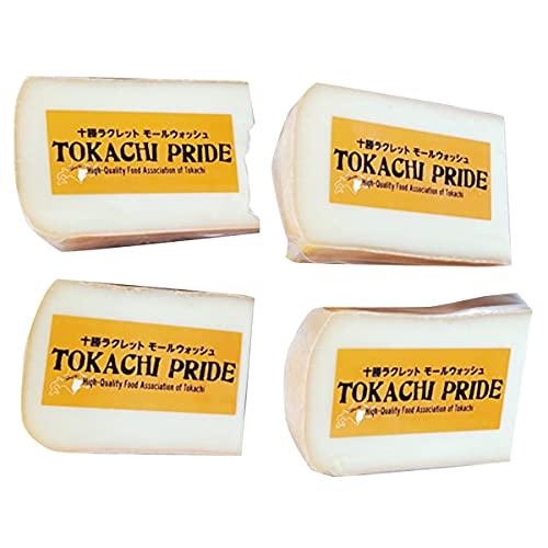 広内エゾリスの谷チーズ社 エゾリスチーズ 十勝ラクレットモールウォッシュ 4個 150g×4 北海道